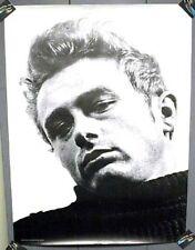 1980's Poster JAMES DEAN Close-Up Portrait