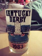 Kentucky Derby Glass 1983