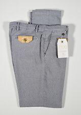 Pantalone Bsettecento grigio micro fantasia cotone stretch vestibilità slim fit