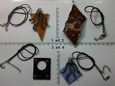collana e ciondolo MURRINE MURANO VETRO italy  artigianale vintage necklace b10