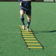 4m Speed Agility Sports Training Ladders, 6 - 4 way Cross, Flat, Round, Football