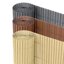Ribelli® PVC Sichtschutzmatte Sichtschutzzaun Sichtschutz Zaun Balkon Windschutz
