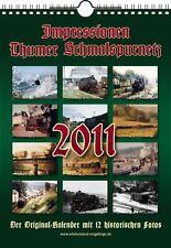 Kalender Thumer Schmalspurnetz 2011 +++ Wandkalender