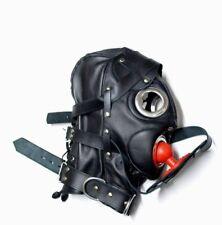 Hood Goat Leather Leder Cuir Tight mask MASKE 6