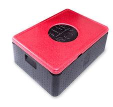 EPP Thermo Box Abm 68,5 x 48,5 x 26,5 cm Thermobox Warmhaltebox Isolierbox ROT