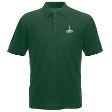 Royal Marines Commando Polo Shirt Embroidered Logo Royal Marines Commando