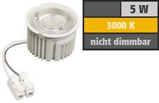 MCOB LED Modul  | 5Watt  | 400 Lumen | 230V | 50 x 33mm | Warmweiß | 3000Kelvin