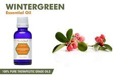 Natural Wintergreen Essential Oil 100% Pure UNCUT Pure Therapeutic Grade Oils