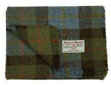 Harris Tweed Pure Wool Luxury Men Womens Fringed Scarf 150cm  Hunting Mcleod