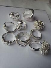 Plata Esterlina 925 Plateado Anillos Moda Dedo Anillos Para Mujer Damas