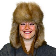 f400c569dea7c Glacier Wear Sable Fur Russian Trooper Style Hat hts1120a