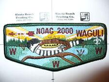 OA Waguli Lodge 318 S34,2000 NOAC Whippoorwhill Flap,GA