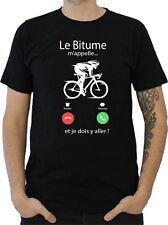 T-SHIRT HOMME LE BITUME M'APPELLE... VÉLO