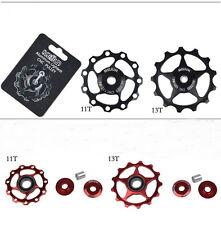 Bikes Bicycles Rear Derailleur Aluminum Guide Roller Idler Pulley Jockey Wheel