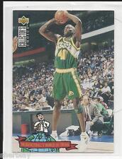 Shawn Kemp # 404 1994 UD Collector's Choice Basketball Card