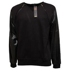 5327Q felpa uomo GIANNI LUPO nero sweatshirt men