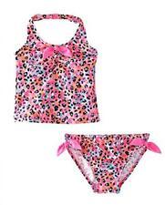 e0b45340aa272 Osh Kosh Toddler Girls Leopard Two Piece Tankini Swimsuit Size 2T 3T 4T $34