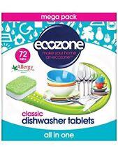 Ecozone Classic Dishwasher Tablets 72 tablets