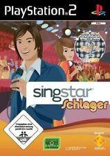 Playstation 2 Spiel - SingStar Schlager (mit OVP)