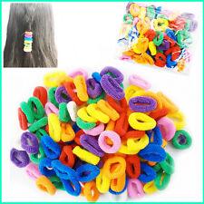 Kids Hair Mini Bobble Ponio Baby Ponytail Bands Endless Elastic Snag Free Candy