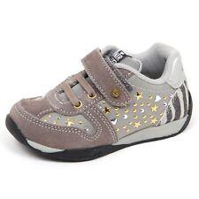 E3556 sneaker bimba grigio NATURINO scarpe primi passi shoe baby girl