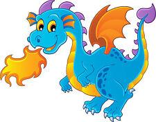 Wandaufkleber kind dragon feuer ref 3636