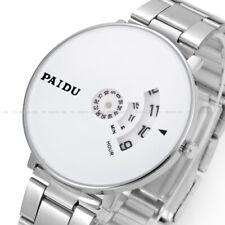 PAIDU Fashion Quartz Wrist Watch Simple Designer Net Mesh Watch Band Unisex Gift