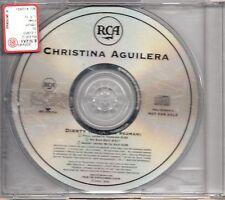 CHRISTINA AGUILERA CD SINGLE DIRRTY 3 vers. feat REDMAN Promo 2002