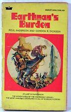 1970 Paperback EARTHMAN'S BURDEN Poul Anderson