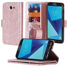 Samsung Galaxy J7 2017SKY PRO J7 PERX J7v Hybrid Folder Extra Pocket flip stand
