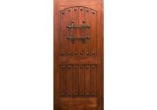 "ETO Doors RM1 - Exterior Rustic Mahogany Wood Entry Door (1-3/4"") All Sizes"