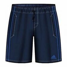 Adidas Swim Trunks 3S Shorts Boys CL Swim Trunks Blue