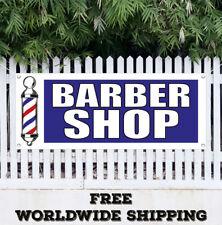 Banner Vinyl BARBER SHOP Advertising Flag Sign Beauty Salon Coloring Manicure