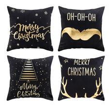 Weihnachten Kopfkissenbezug Kissen Cover Haus Dekokissen Elch 45 *45 cm