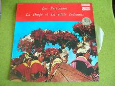 LP HARPE INDIENNE-FLUTE-LOS PERUVIANOS