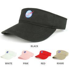 NASA Insignia Logo Embroidered Cotton Adjustable Visor Cap - FREE SHIP