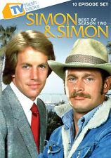 Simon & Simon: Best of Season Two (DVD, 2011, 2-Disc Set) NEW FACTORY SEALED