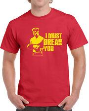 076 I Must Break You mens T-shirt funny boxing drago 80s movie ivan rocky champ