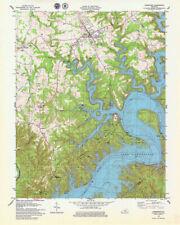 Lake Cumberland Kentucky Satellite Poster Map for sale ...