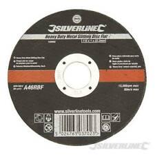 Silverline 115mm Heavy Duty Metal Cutting Discs - CHEAP CHEAP