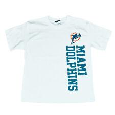 NFL Miami Dolphins Verticale Numero T-Shirt Junior Calcio Bianco T-Shirt DK2517