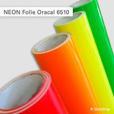 NEON Folie Oracal 6510   gelb, orange, rot, grün   günstige Laufmeterpreise