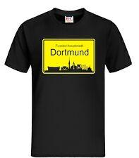 T-Shirt Fussballhauptstadt Dortmund Ultras  Fussball  Trikot Fan Shirt Fans