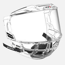 CCM FV1 Full Hockey Visor Face Shield! Senior SR Junior JR Clear CSA CE HECC