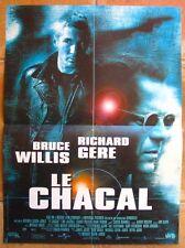 LE CHACAL (THE JACKAL) Affiche CINEMA 53x40 - BRUCE WILLIS / RICHARD GERE