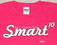 SMART [TO THE POWER OF] 10-Math Science Geek Nerd Girl Power Kids T shirt XS-L