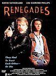 Renegades (DVD 1998) RARE 1989 KEIFER SUTHERLAND  LOU DIAMOND PHILLIPS BRAND NEW