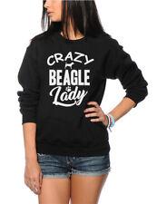 Crazy Beagle Lady - Dog Puppy Pet Gift  Kids Sweatshirt