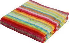 Cawö Handtuch Duschtuch Strandtuch Saunatuch Waschhandschuh Streifen blau rot