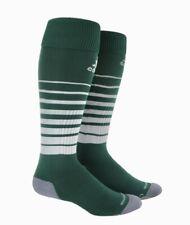 ADIDAS Team Speed OTC Soccer Socks Green White Youth S Fits 13c-4y Mens L 9-13